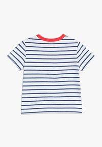 GAP - TODDLER BOY LOGO - T-shirt z nadrukiem - white - 1