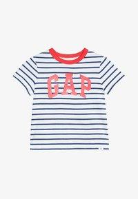 GAP - TODDLER BOY LOGO - T-shirt z nadrukiem - white - 2