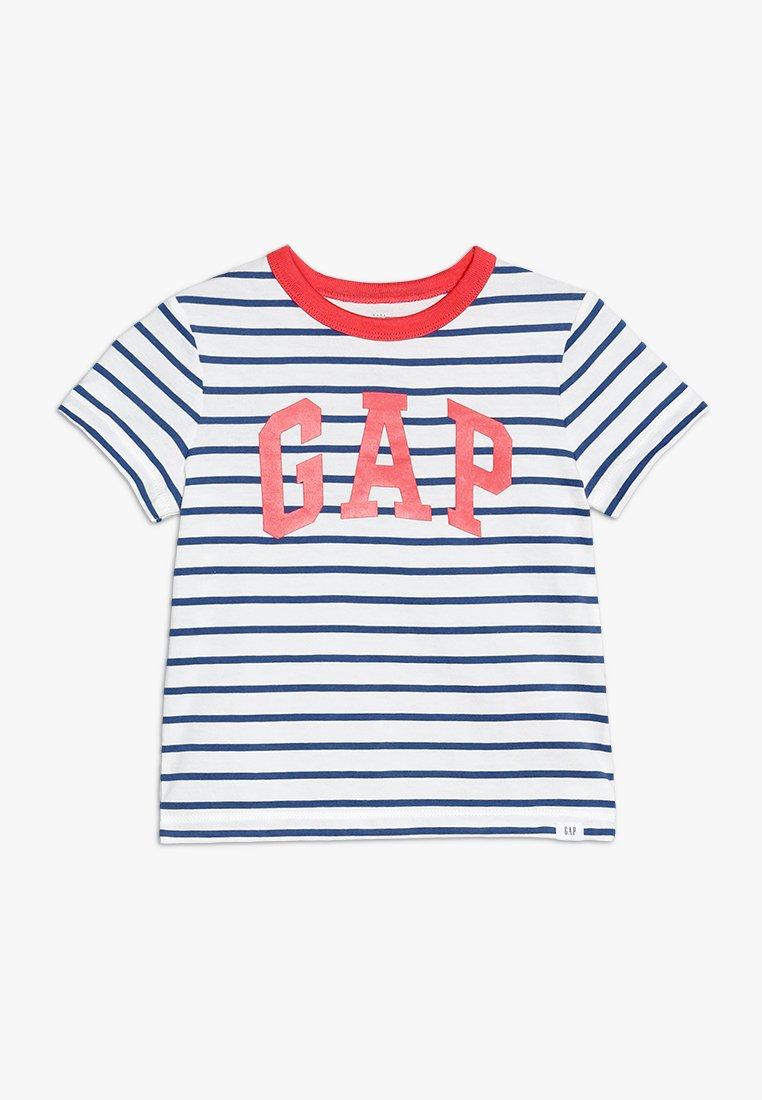 GAP - TODDLER BOY LOGO - Print T-shirt - white