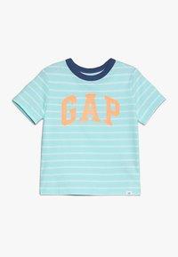 GAP - TODDLER BOY LOGO - T-shirt con stampa - aqua - 0