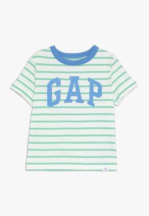 TODDLER BOY LOGO - T-shirt z nadrukiem - green