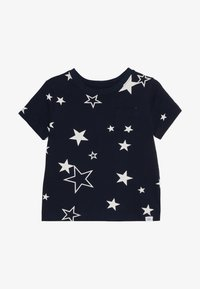 GAP - TODDLER BOY MAY PRINT  - T-shirt z nadrukiem - navy - 2