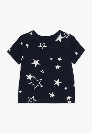 TODDLER BOY MAY PRINT  - T-shirt z nadrukiem - navy