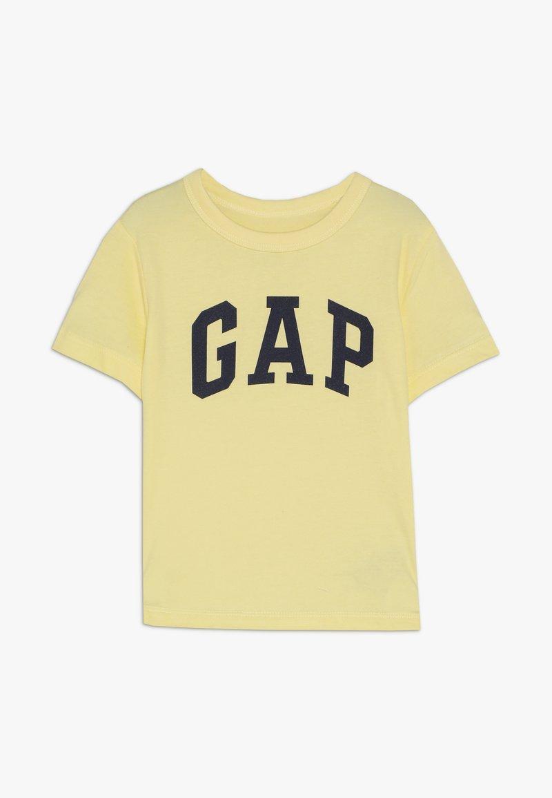 GAP - TODDLER BOY LOGO - Camiseta estampada - creamy yellow