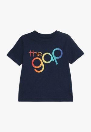 TODDLER BOY BUBBLE ARCH TEE - T-shirt z nadrukiem - elysian blue