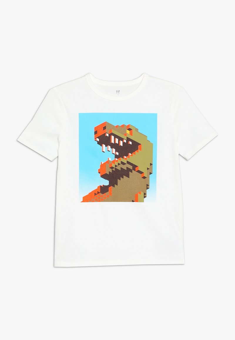 GAP - BOY MAY - T-shirt con stampa - new off white