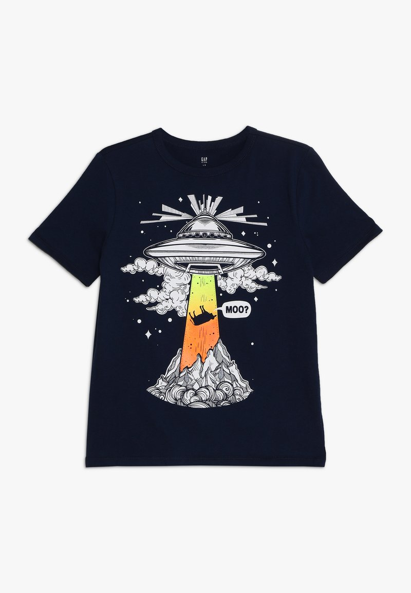GAP - BOY MAY - T-shirt con stampa - elysian blue
