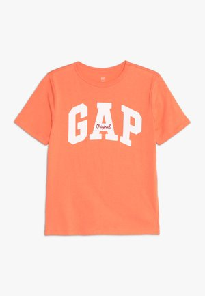 BOY MAY - T-shirt z nadrukiem - jos orange