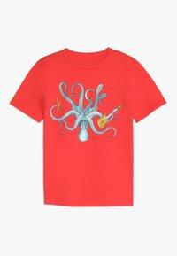 GAP - BOY  - T-shirt con stampa - hula red - 0