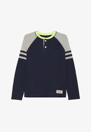 BOY HENLEY - Long sleeved top - tapestry navy