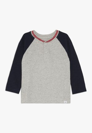 TODDLER BOY HENLEY - Bluzka z długim rękawem - grey heather
