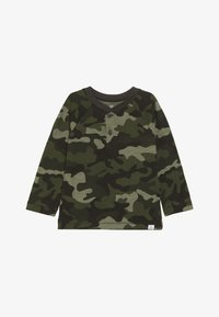 GAP - TODDLER BOY HENLEY - Longsleeve - olive - 3