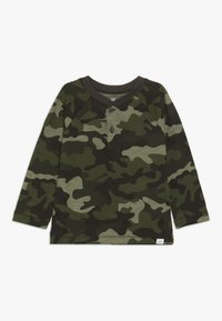 GAP - TODDLER BOY HENLEY - Longsleeve - olive - 0