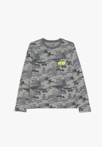 GAP - BOY TEE - Maglietta a manica lunga - grey - 0