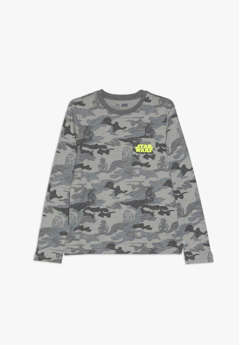 GAP - BOY TEE - Maglietta a manica lunga - grey