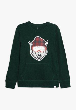 BOY KANGA FLIP - T-shirt à manches longues - evergreen glamour