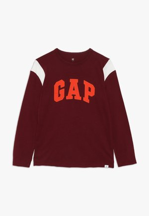 BOY LOGO TEE - Long sleeved top - red delicious