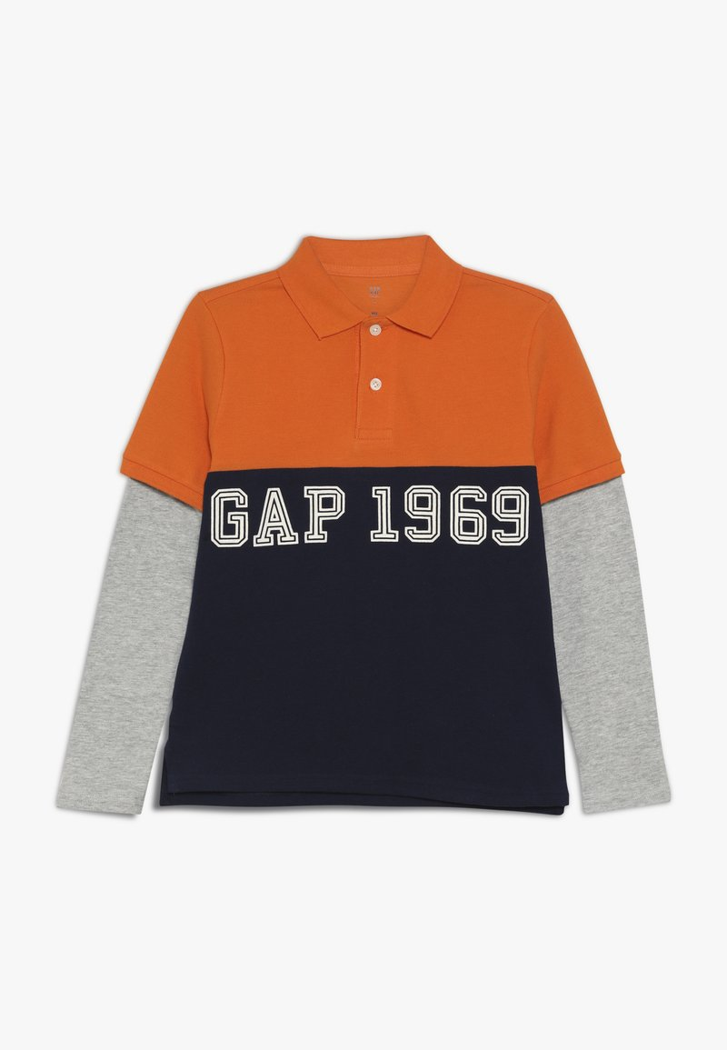 GAP - BOY - Polo shirt - scorch