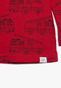 GAP - TODDLER BOY PRINT - Bluzka z długim rękawem - modern red - 3