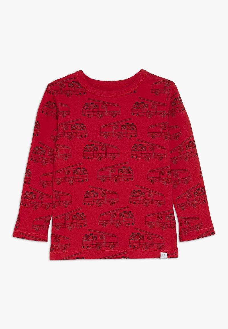 GAP - TODDLER BOY PRINT - Bluzka z długim rękawem - modern red