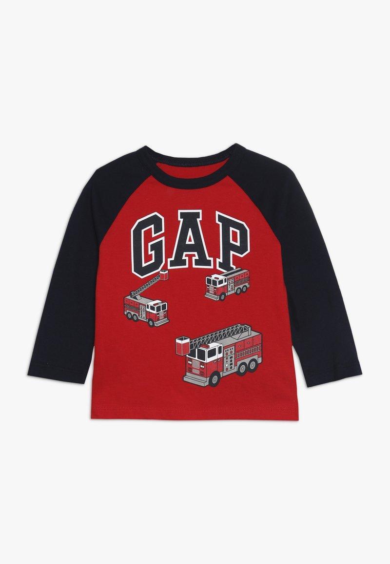 GAP - TODDLER BOY LOGO - Long sleeved top - pure red