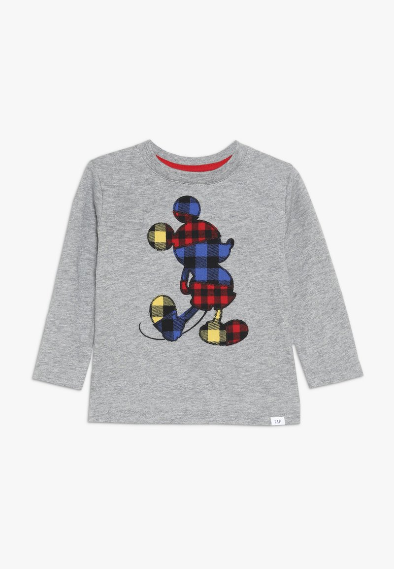 GAP - MICKEY MOUSE TODDLER BOY - Langærmede T-shirts - charcoal grey