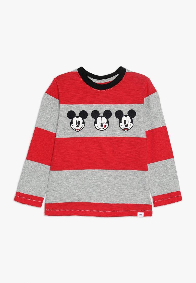 GAP - MICKEY MOUSE TODDLER BOY - Långärmad tröja - light heather grey