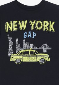 GAP - TODDLER BOY CITY - Bluzka z długim rękawem - blue galaxy - 3