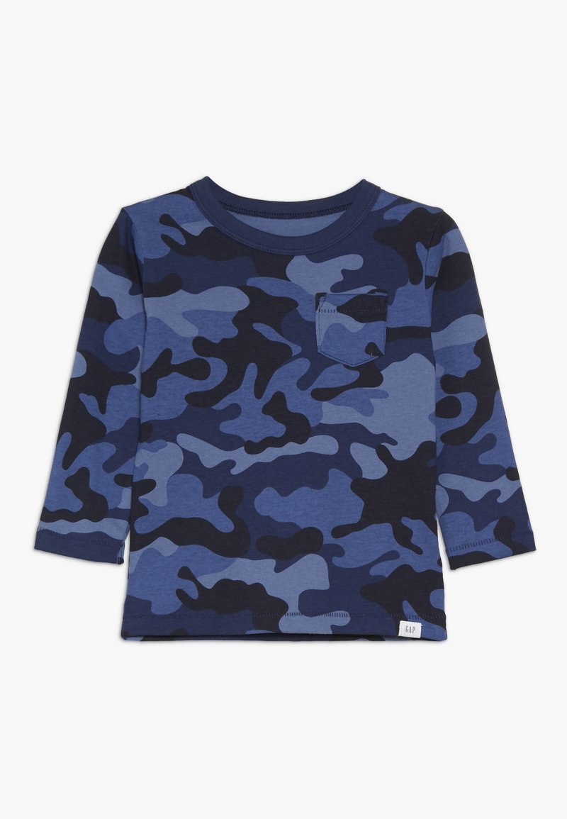 GAP - TODDLER BOY PRINT  - Top s dlouhým rukávem - blue