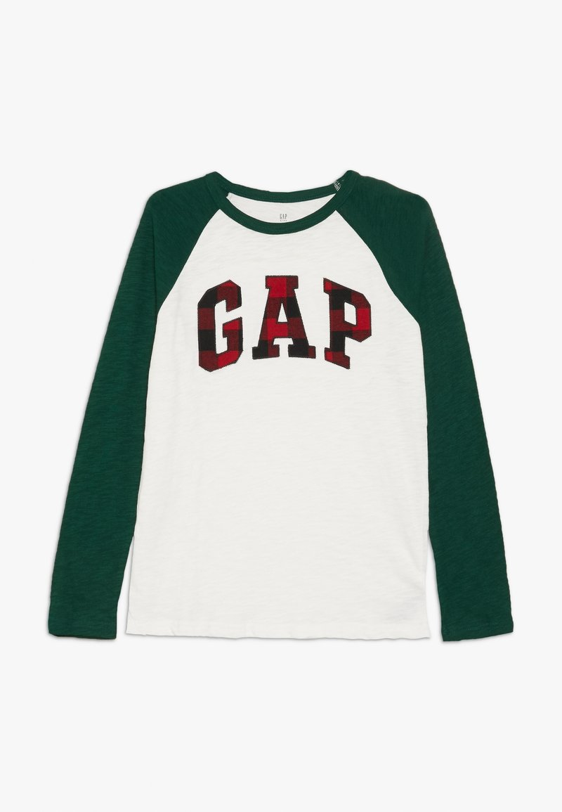 GAP - BOY ARCH - Top sdlouhým rukávem - new off white