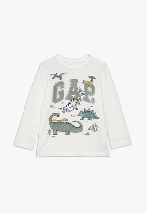 TODDLER BOY NOVELTY LOGO - Top s dlouhým rukávem - new off white