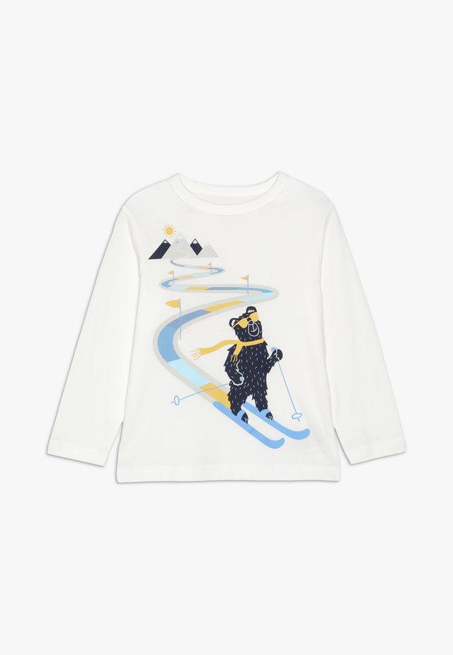 TODDLER BOY - Bluzka z długim rękawem - new off white