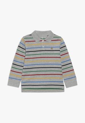 TODDLER BOY - Polo - light heather grey