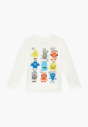 TODDLER BOY  JAN - Top s dlouhým rukávem - new off white