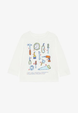 TODDLER BOY  - Maglietta a manica lunga - new off white