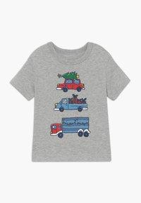 GAP - TODDLER BOY  - T-shirt print - light heather grey - 0