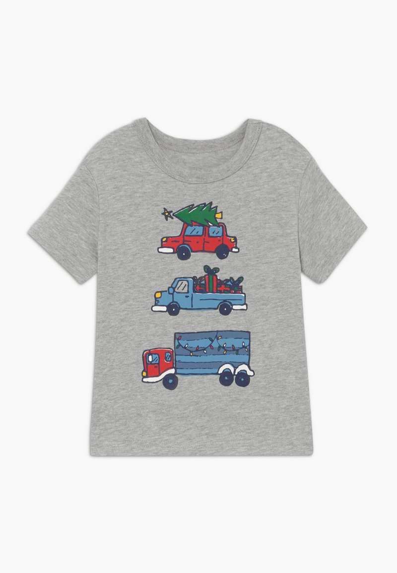 GAP - TODDLER BOY  - T-shirt print - light heather grey