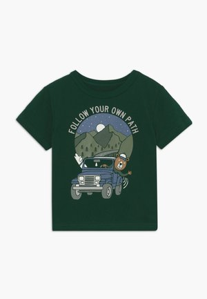 TODDLER BOY  - T-shirt con stampa - evergreen glamour