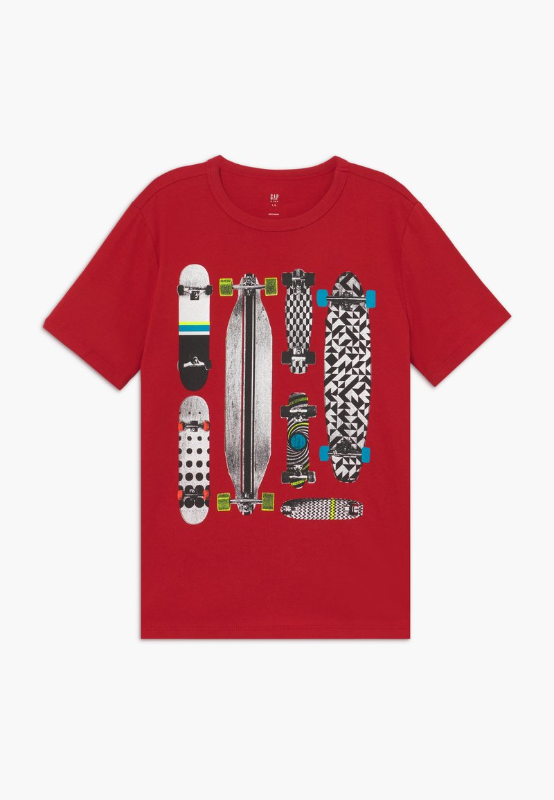 GAP - BOY  - Camiseta estampada - modern red