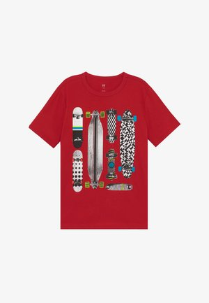 BOY  - T-shirt con stampa - modern red