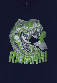 GAP - BOY  - Print T-shirt - tapestry navy - 3
