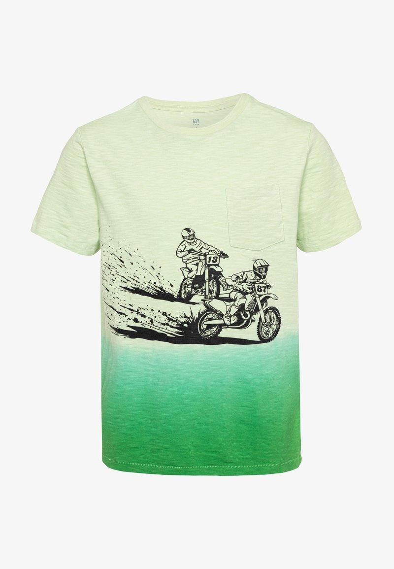 GAP - BOY TEE - T-shirt print - matcha green