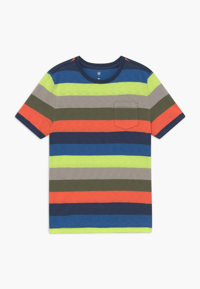 GAP - BOY TEE - Triko s potiskem - multi-coloured