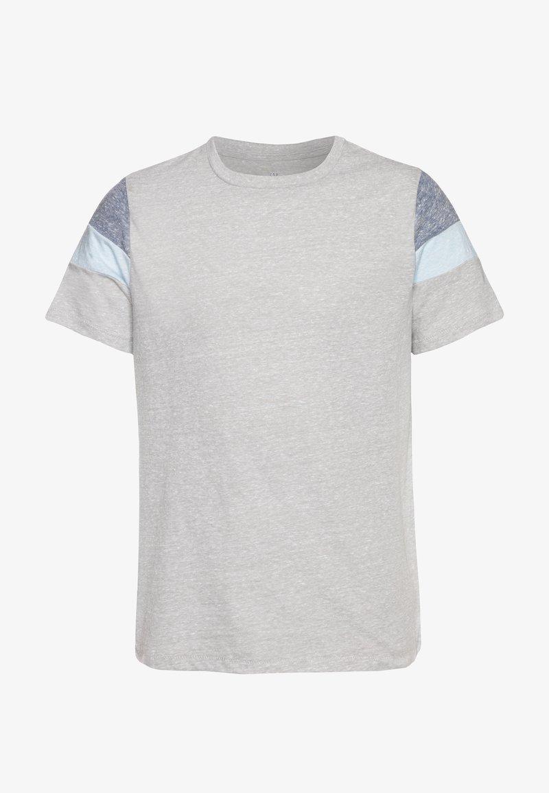 GAP - BOY TEE - T-shirt imprimé - silver