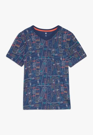 BOY  - T-shirt print - blue shade