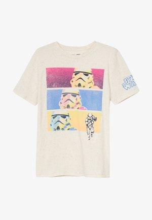 BOY TEE - Camiseta estampada - oatmeal