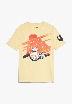 BOY TEE - Camiseta estampada - havana yellow