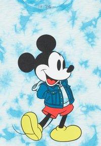 GAP - BOY MICKEY - T-shirt print - blue tie - 3