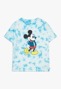 GAP - BOY MICKEY - T-shirt print - blue tie - 0