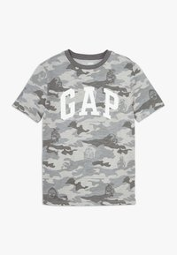 GAP - BOY ARCH - T-shirt print - grey - 0